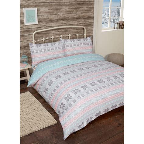 cotton bedding sets nordic brushed cotton duvet set double bedding b m