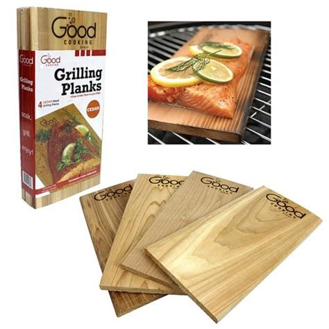 Camarons Grillés by Camerons Cedar Bbq Grilling Planks Set Of 4