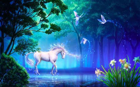 imagenes de unicornios en 3d unicornio bosques wallpaper 1920x1200 776007 wallpaperup