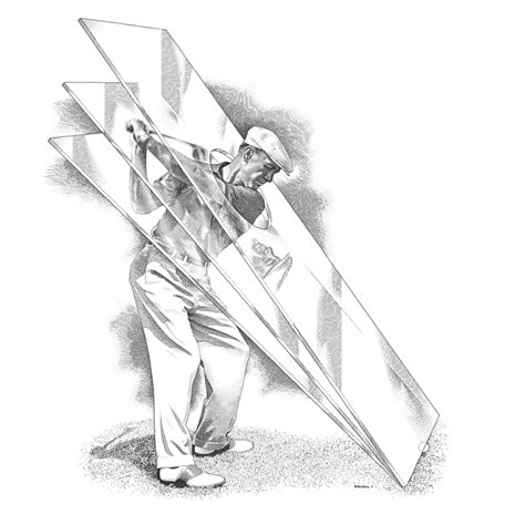 hogan swing plane ben hogan archives golf illustration