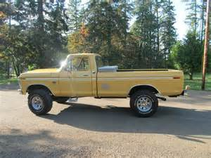 purchase used 1975 ford f 250 4x4 highboy in corvallis
