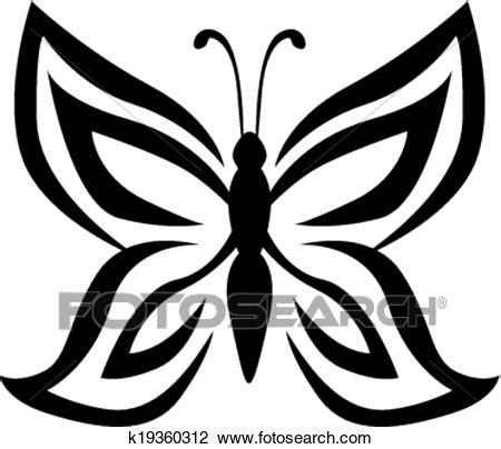 clipart farfalla clipart stilizzato immagine farfalla k19360312 cerca