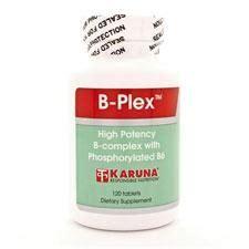 Vitamin San B Plex B Plex 120t Karuna Vitamins
