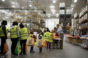 Dc Food Pantry by Thanksgiving 2012 Obamas Return To Same Dc Food Bank To