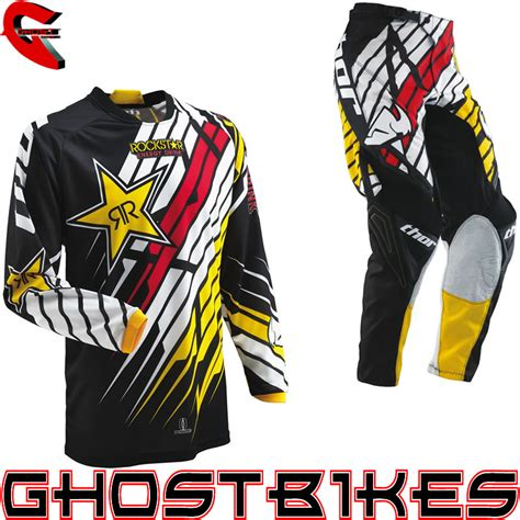 youth rockstar motocross gear thor mx gear 2013 phase rockstar combo youth car