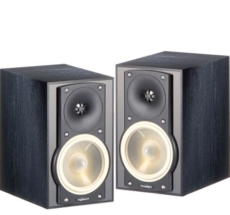 paradigm atom v6 bookshelf speakers review test price