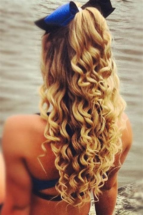 hairstyles for school bow curls with bow hairstyles for long hair pinterest