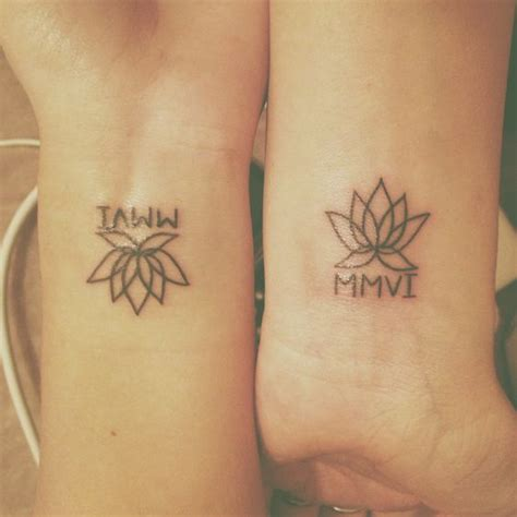 101 best friend tattoos that are genius and touching