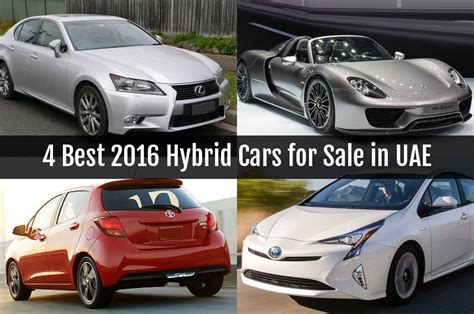 best hybrid 4 best 2016 hybrid cars for sale in uae buymyluxurycar