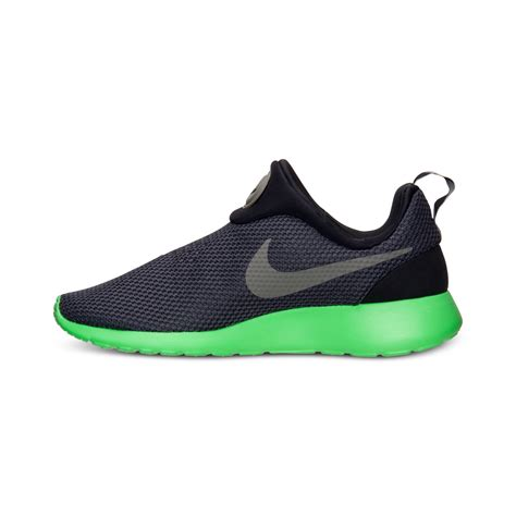 roshe shoes for nike mens roshe run slip on casual sneakers from finish