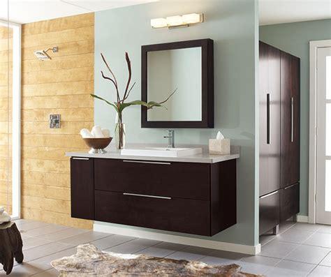 wall mounted bathroom vanity  dark cherry decora