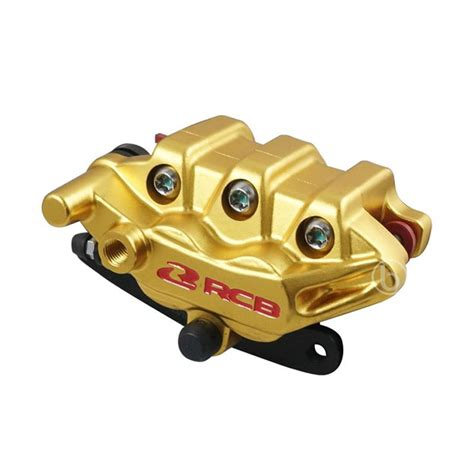 Kaliper Racing Boy Vario 125 jual racing boy cnc 2 piston kaliper rem cakram depan for vario 110 karbu gold harga