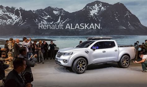 renault alaskan mercedes and renault pickups will be based on np300 navara