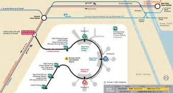 New York Newark Airport Map by New York Map Newark Airport