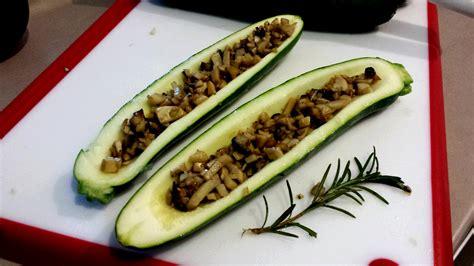 resep zukini panggang isi jamur resep masakan dapur arie