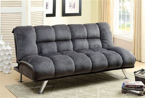 Gray Futon by Futon Sofa Bed Marbelle Gray Chion Fabric Futon