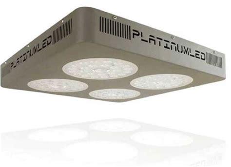 advanced platinum led grow lights advanced platinum series p4 xml2 380w grow light review