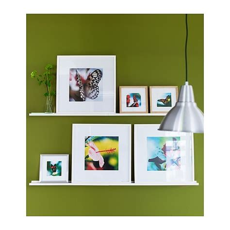 ikea photo ledges ikea ribba picture photo ledge shelf art pictures ebay