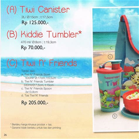 Promo Tupperware Premier Canister 2l Activity November 2016 tiwi canister tupperware promo oktober 2014