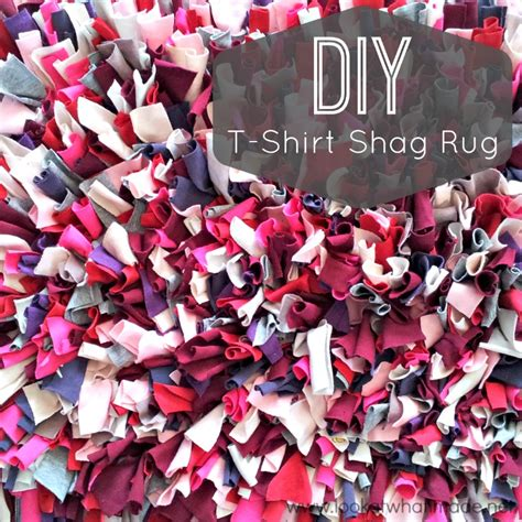 how to make a rug from t shirts diy t shirt shag rug look at what i made