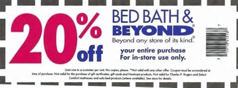 bed bath and betond coupons bed bath and beyond coupons