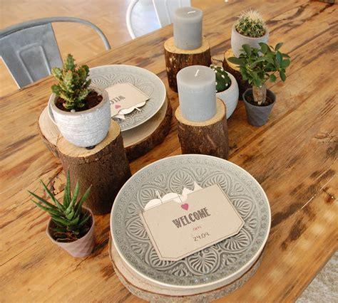 Tischdeko Mit Baumscheiben by Tischdeko Mit Baumscheiben Roomilicious