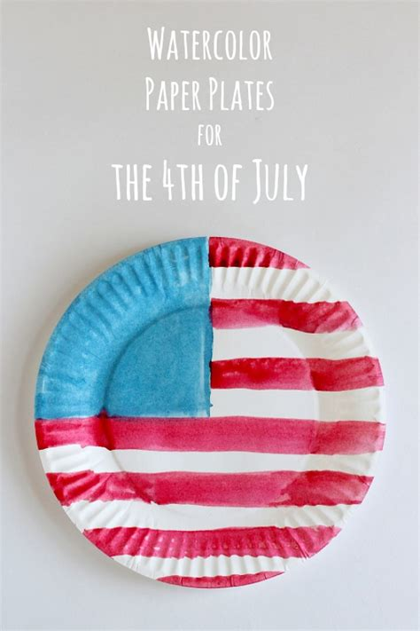 top 25 fourth of july kids crafts sweets flags watercolor and craft
