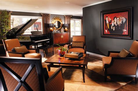 decorating tips for a masculine den masculine living room traditional living room los