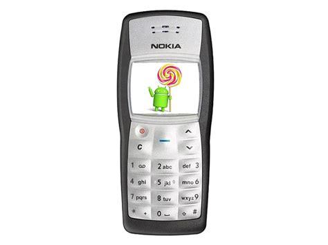 Hp Nokia Lama nokia 1100 with android 5 0 lollipop processor