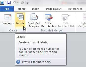 how to make printable address labels in word how to print address labels from word 2010 solve your tech