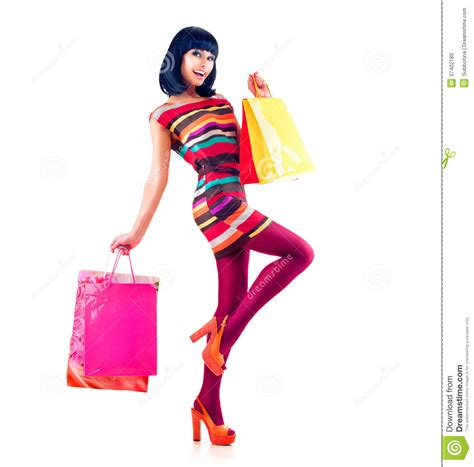 Shopping Mode by Fashion Shopping Stock Photo Image Of Black Bright
