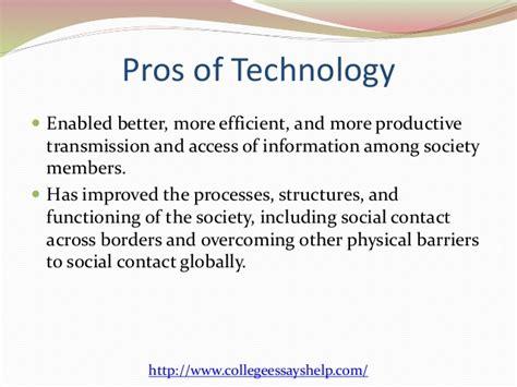 Modern Communication Technology Essay by Argumentative Essay On Technology