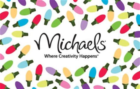 Michaels Crafts Gift Card - michaels arts crafts store gift card santa baby pinterest