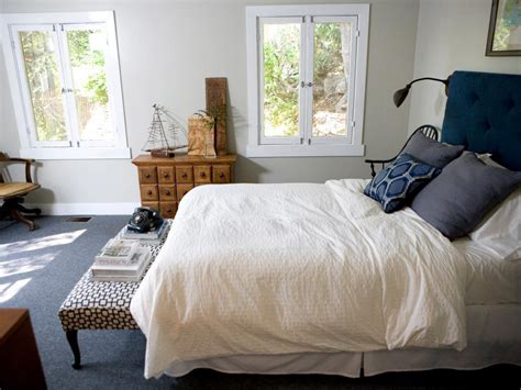 Bedroom Color Ideas With Blue Carpet Before And After Glee Co Creator S L A Bungalow