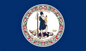 of virginia colors virginia state flag coloring pages usa for