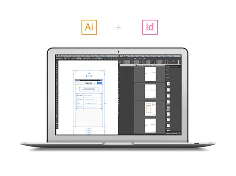 Wireframing With Illustrator And Indesign Indesign Wireframe Template