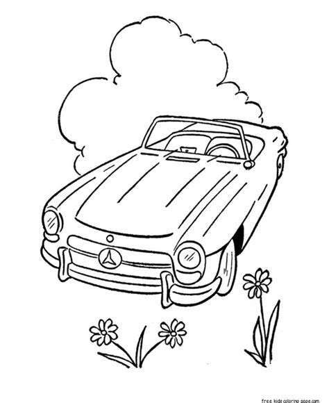 coloring pages of convertible cars printable convertible car coloring pages for kidsfree
