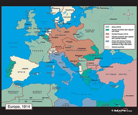 european map 1914 europe map 1914 by maps from maps world s