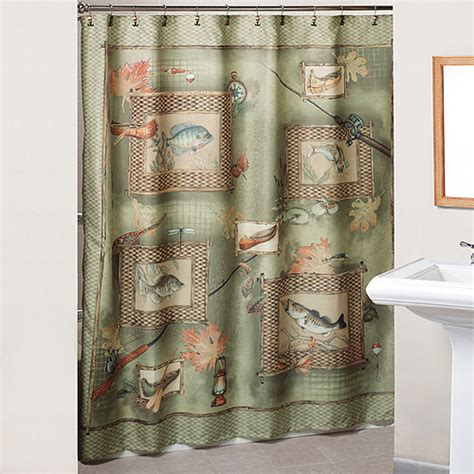 Fishing Shower Curtains with Walmart