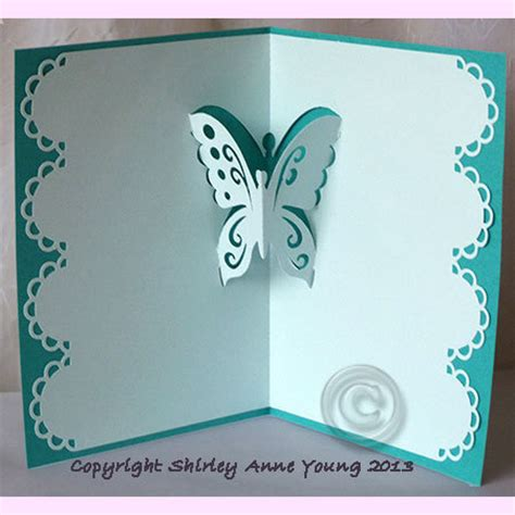butterfly template for pop up cards papillon en kirigami free pattern silhouette sst