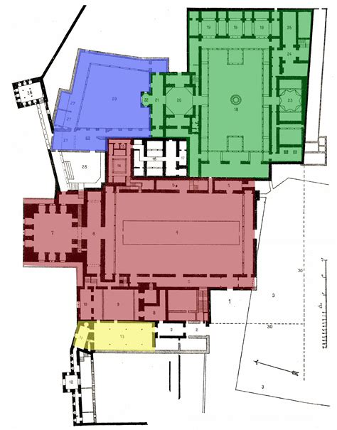 Alhambra Plan by Alhambra