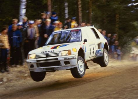 peugeot 205 group b group b rally cars the killer b s autoevolution