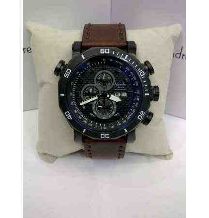 Alexandre Christie Ac 6440ld Light Brown Leather jual alexandre christie ac 6308 all black index grey baru