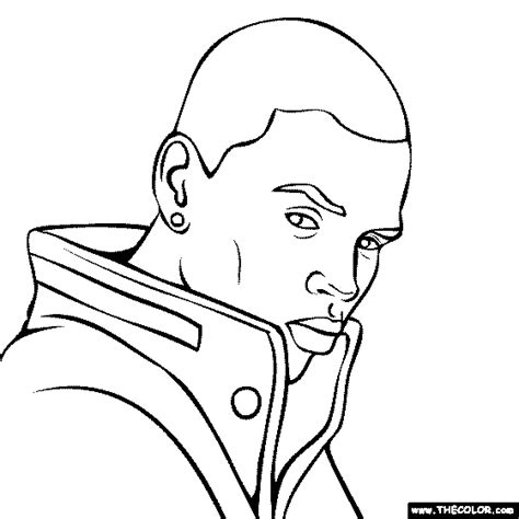 Chris Brown Coloring Pages chris brown coloring pages 01 coloring pages chris brown and free printable