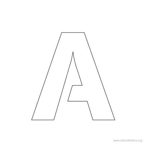 Printable 1 Inch Letter Stencils | 3 inch block letter stencils printable best photos of