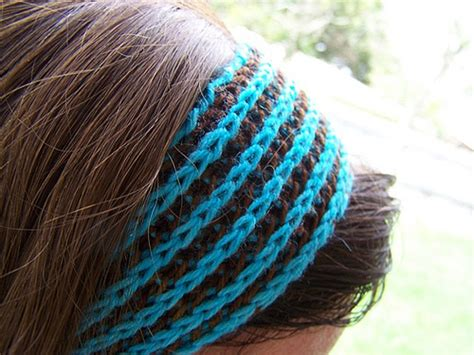 hair knitting patterns hair accessories