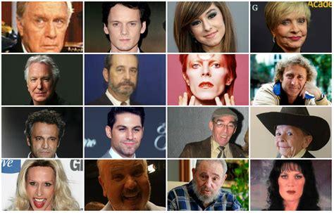 artistas que murieron agosto 2016 personajes famosos que murieron el 2016 gente vida y