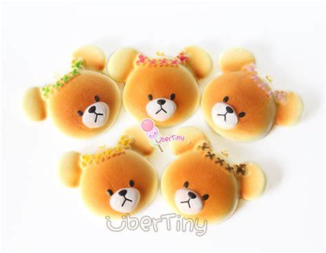 Squishy Toast Emoticon Mini Squishy Roti Emoticon Mini bears school jackie flower headband bread squishy