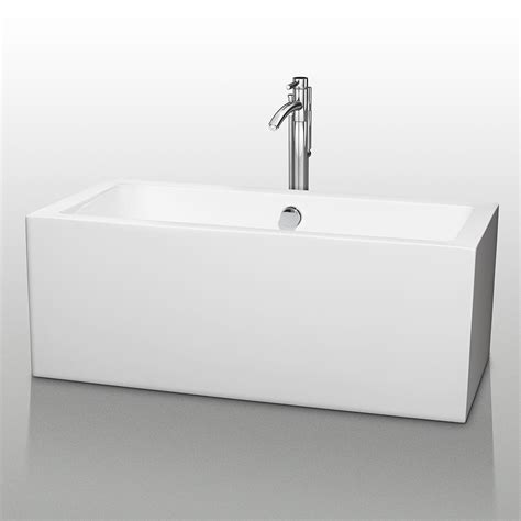 wyndham bathtubs wyndham collection wcobt101160 melody 60 inch soaking bathtub wcobt101160 wc obt1011