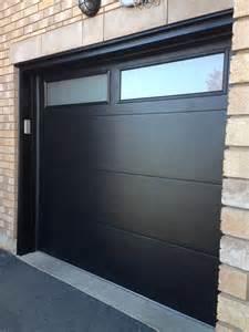 modern fiberglass garage doors modern garage door with